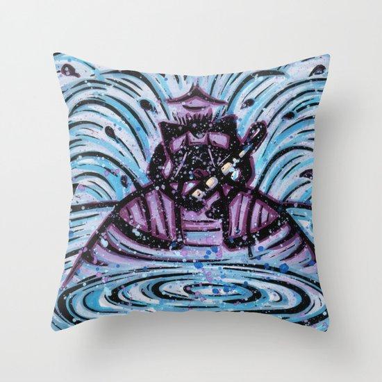 Orixás - Nanã Throw Pillow