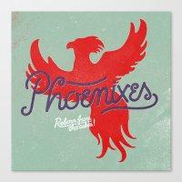 Phoenixes Canvas Print