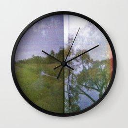 River runs through it Wall Clock