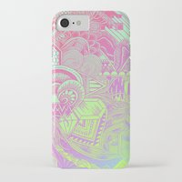 hologram iPhone & iPod Cases featuring Hologram Wave by michiko_design