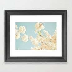 Cotton Candy In The Sky Framed Art Print