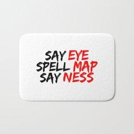 Eye Map Ness Bath Mat