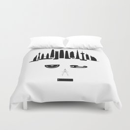 the world inside your head | Architect Duvet Cover