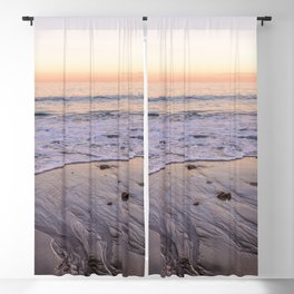 Sunset at the beach Blackout Curtain