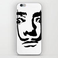 salvador dali iPhone & iPod Skins featuring salvador dali by b & c