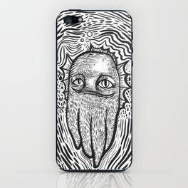 swamp thing squid cat iPhone Skin