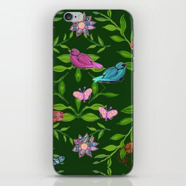 zakiaz magical forest iPhone Skin