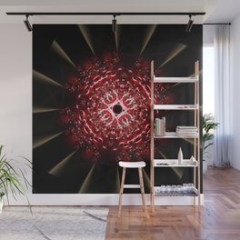 Fractal Fireball Wall Mural