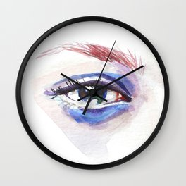 Background Noise Wall Clock