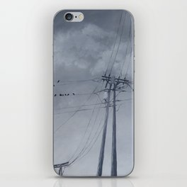 The Sky of the Man iPhone Skin