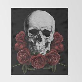 BOUQUET OF DEATH Throw Blanket