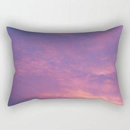 Peach & Violet Blaze Rectangular Pillow