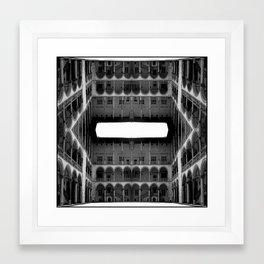 Escher Lives Here Framed Art Print