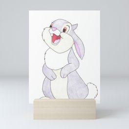 thumper from bambi Mini Art Print