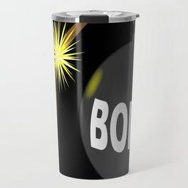 Bomb and Match Travel Mug