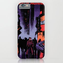 Blade Runner Los Angeles iPhone Case