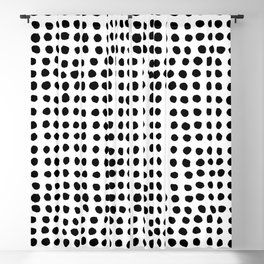 Painted Polka Blackout Curtain