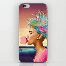 Shark and gum iPhone & iPod Skin