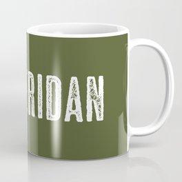 Deer: Sheridan, Wyoming Coffee Mug