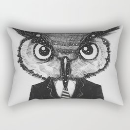 In Search of Wisdom (A Portrait of Perseverance) Rectangular Pillow