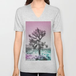 Joshua Tree - Ultraviolet Unisex V-Neck