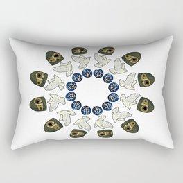 LAPUTA MANDALA Rectangular Pillow