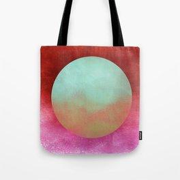 Circle Composition X Tote Bag