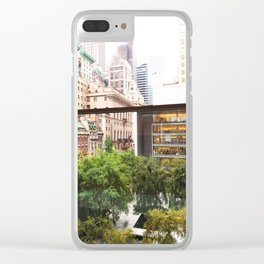 143. Room with view, New York Clear iPhone Case