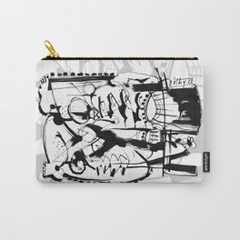 Gentleman - b&w Carry-All Pouch