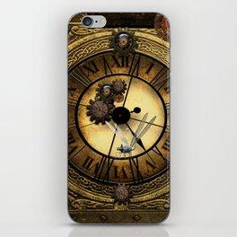 Steampunk design iPhone Skin