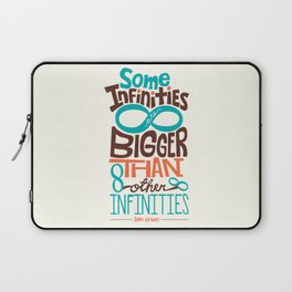 Some Infinities Are Bigger Than Other Infinities Laptop Sleeve
