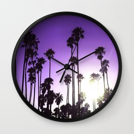 California mood Wall Clock