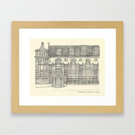 Gerlinger Hall Framed Art Print