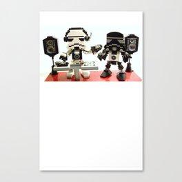 DJ Stormie and MC 1138 Canvas Print