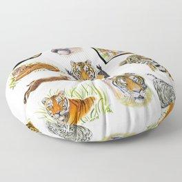Big Cat Sticker Pack 1 Floor Pillow