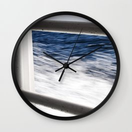 Island Metal Works Study: exhibit c Wall Clock