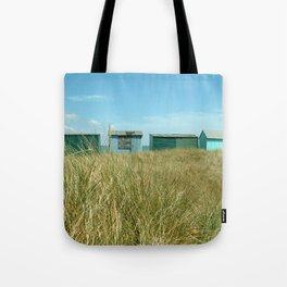Beach Huts Relaxation Tote Bag