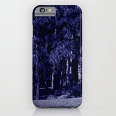 blue trees Slim Case iPhone 6s