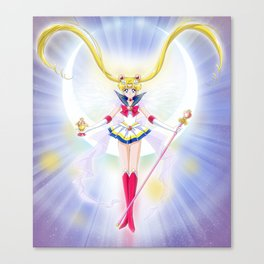 Super Sailor Saint Moon Canvas Print