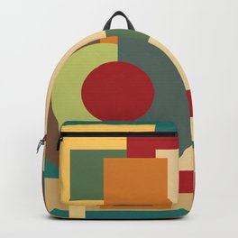 Abstract geometric composition study- Picture Frame Backpack