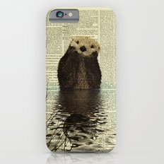 Otter in Love iPhone 6s Slim Case
