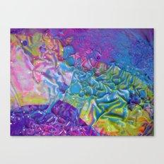 Wet Paint Blob Canvas Print