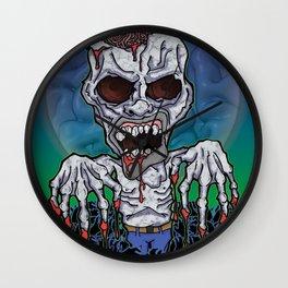 Full Moon Kevin Wall Clock