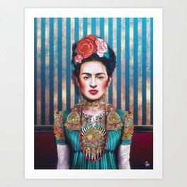 """Frida"" Art Print"