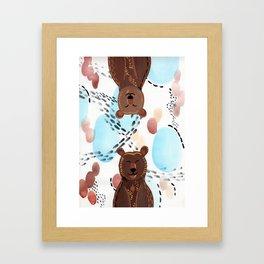 Brother Bears Framed Art Print