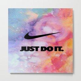 Nike's Just Do It Metal Print