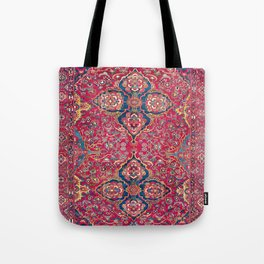 Bakhtiari West Persian Rug Print Tote Bag