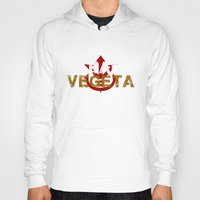 vegeta Hoodies featuring Team Vegeta by AJF89