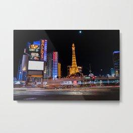 Las Vegas Metal Print