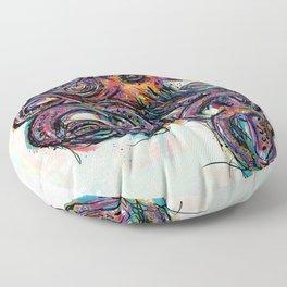 Octo Lines Floor Pillow